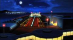 実際に番組で描かれたシャトル発射場
