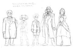 キャラクターデザイン 初期のころ
